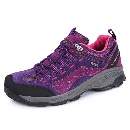 The First Outdoor Women's Breathable Hiking Shoe Violet very cheap cheap for cheap discount Manchester cheap sale buy 7idaDO