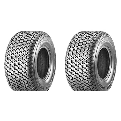 """(Lot of 2) 6"""" 15x6.00-6 15x6.00x6 Tubeless Turf Tires 4 ply rated for cheap"""