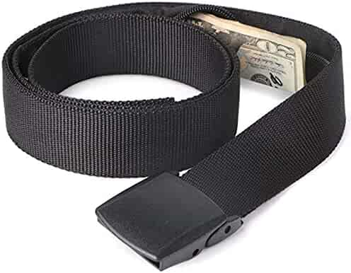 Money Belt - Active Roots Anti-Theft Security Belt - Hidden Compartment for Travel for Men and Women