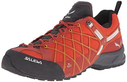 Salewa Herren Trekking- und Wanderhalbschuhe MS Wildfire S GTX, Rot (Indio/Nugget Gold), 44 EU (9.5 Herren UK)00-0000063451