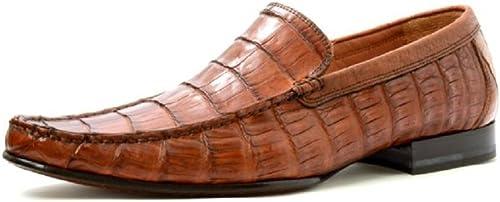 alligator slip on shoes