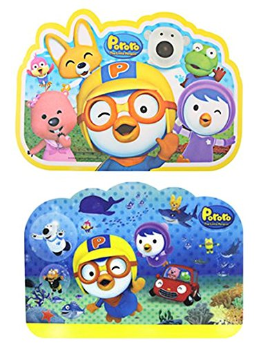 Pororo & Friends 3dプレイスマット(Set of 2 )   B00OJEUGR0