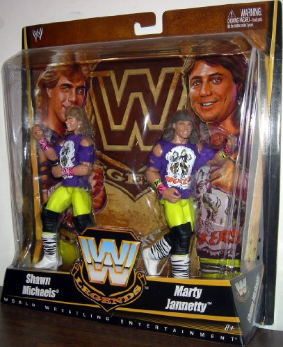 Mattel WWE Wrestling Exclusive True Legends Elite Action Figure 2Pack The Rockers Shawn Michaels Marty Jannety