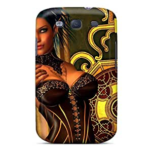 Hot Fashion FHA4983YMnD Design Case Cover For Galaxy S3 Protective Case (elfine)