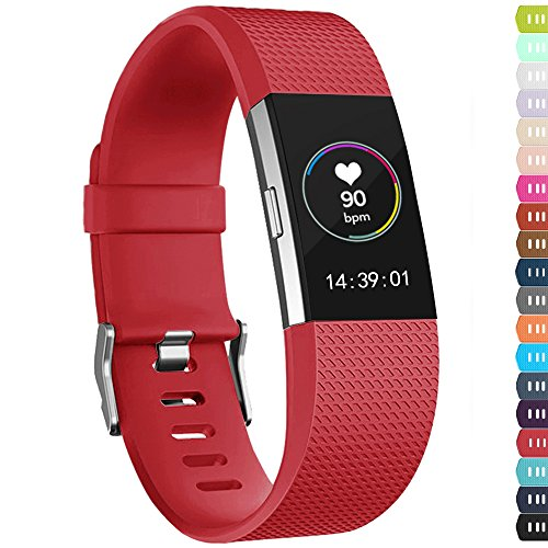 Top fitbit charge 2 bands red small for 2019