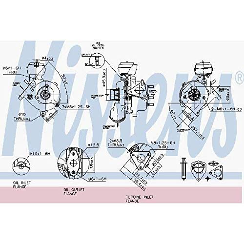 Nisss 93200 Turbo Charger: