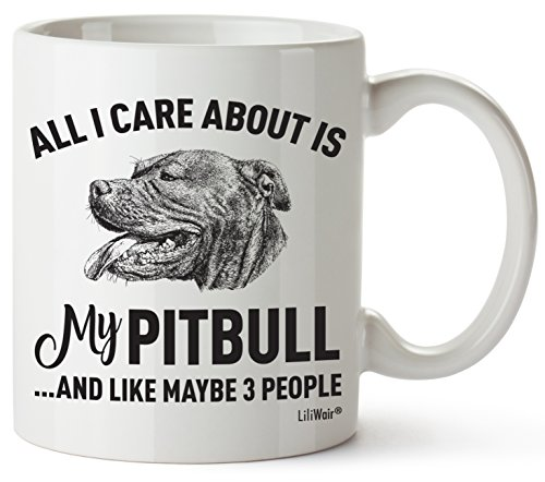 Pitbull Mom Gifts Mug For Women Men Dad Decor Lover Decorations Stuff I Love Pitbulls Coffee Merchandise Accessories Talking Art Apparel Funny Birthday Gift Home Supplies Coffee Cup Mugs