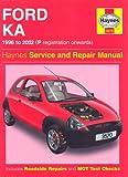 Ford Ka Service and Repair Manual (Haynes Service and Repair Manuals) Motor 1.?
