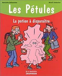 Les Pétules, la potion à disparaître - Sélection du Comité des mamans Hiver 2003 (6-9 ans)