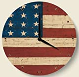 The Grand Old Flag Americana Theme Wall Clock