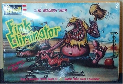 Ed Big Daddy Roth Fink Eliminator Plastic Model Kit by Revell