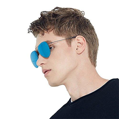 or bleus de soleil UV verres gris Lunettes de soleil lunettes soleil 6 isolées Shop polarisées de polarisés Lunettes de Bleu soleil lunettes UfWPEz8R