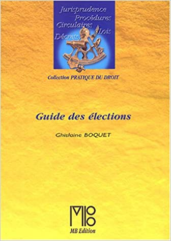 Livre gratuits Guide des élections pdf ebook