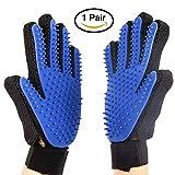 GINIMAX Pet Grooming Gloves - Massage Magic Pet Hair...