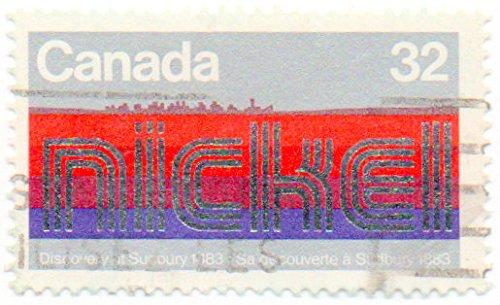 Single 1983 Centenary Of Discovery Of Nickel Sudbury, Ontario Issue 32 Cent Scott #996 ()