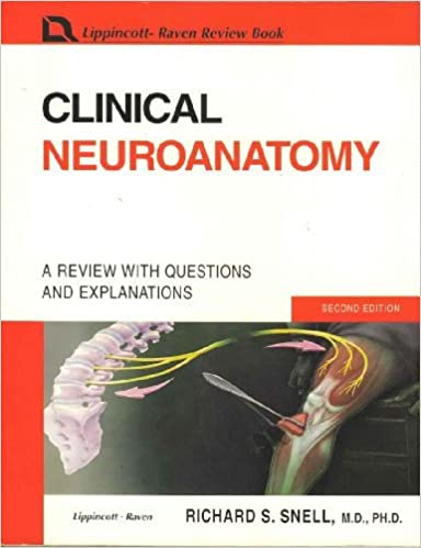 Clinical Neuroanatomy A Review With Questions And Explanations