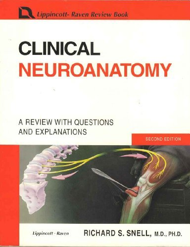 Clinical Neuroanatomy: A Review With Questions and Explanations