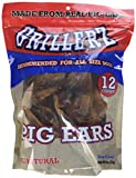 Scott Pet 12 Count Grillerz Pig Ears (1 Pouch) For Sale