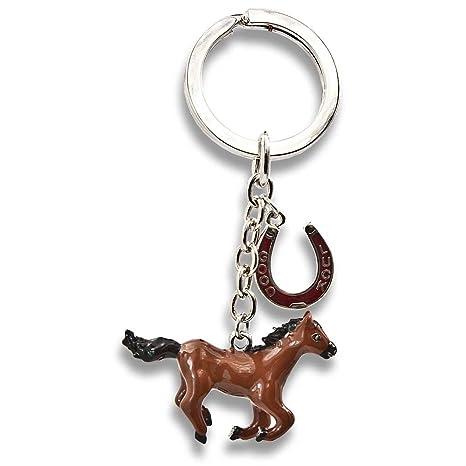 Horses Dreams - Llavero Caballos de Good Luck caballo marrón ...