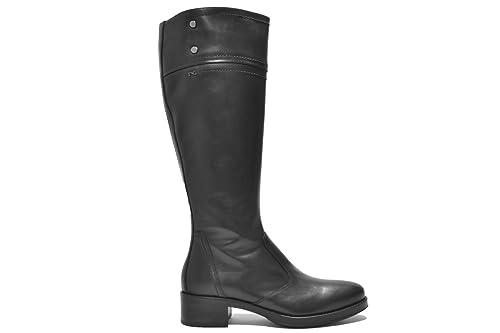 NERO GIARDINI Stivali scarpe donna nero 9820 mod. A719820D
