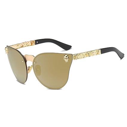 SLYlive Gafas de Sol Cat Eye, Gafas de Sol de protección ...