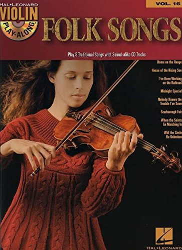 (Folk Songs: Violin Play-Along Volume 16)