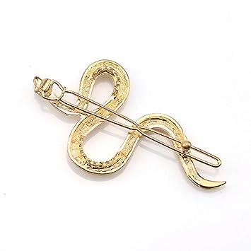 Hairpins Snake Animals Gold Black Hairpins Hair Clips For Women Hair Access DIY