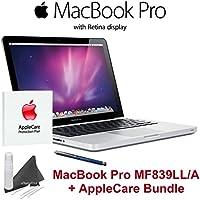 Apple MF839LL/A MacBook Pro + AppleCare Bundle - 13.3 Laptop with Retina Display (2.7 GHz Intel Core i5 Processor, 8 GB RAM, 128 GB Hard Drive, OS X Yosemite)