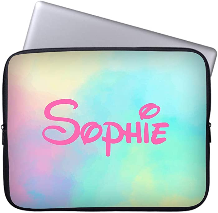 WEME Custom Personalized Laptop Sleeve Case for Laptops and Ultrabooks Protective MacBook Air/MacBook Pro 13 Inch