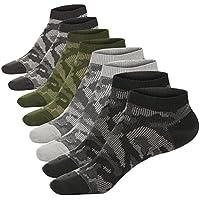 M & Z de los hombres calcetines de corte bajo calcetines de algodón anti-slid Athletic Fit todas las temporadas 5Pack