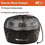 GSI Outdoors Stainless Base Camper for Camping and