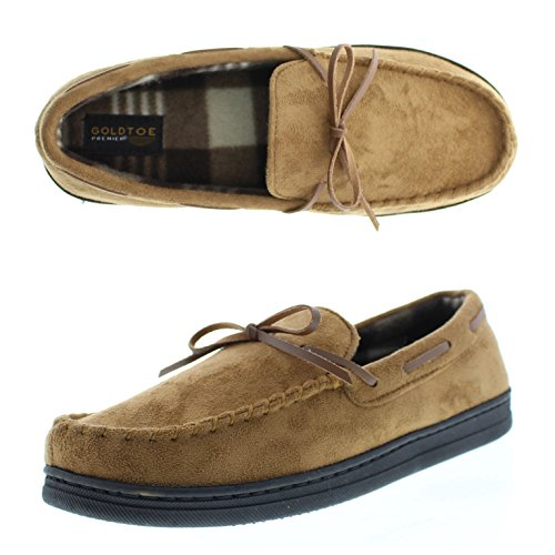 Gold Toe Baron Microsuede Moccasin product image
