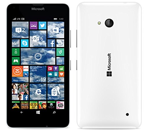 Microsoft Nokia Lumia 640 LTE RM-1073 8GB 5″ T-Mobile GSM Windows 8MP Camera Smartphone, White
