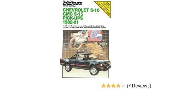 chilton chevy s10 repair manual