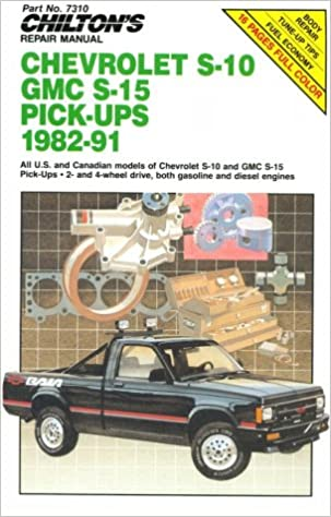 1998 chevrolet s10 service manual