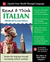 Read & Think Italian, Premium 2nd Edition Front Cover