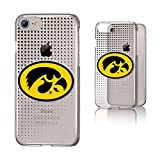 Keyscaper NCAA Iowa Hawkeyes Dots Clear Case, iPhone 8/7/6, Clear