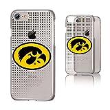 #9: Keyscaper NCAA Iowa Hawkeyes Dots Clear Case, iPhone 8/7/6, Clear