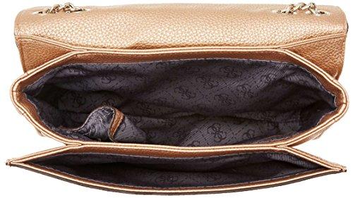 Guess Korry, Sacs portés épaule femme, Bianco Sporco (Champagne), 5.5x21.5x28 cm (W x H L)