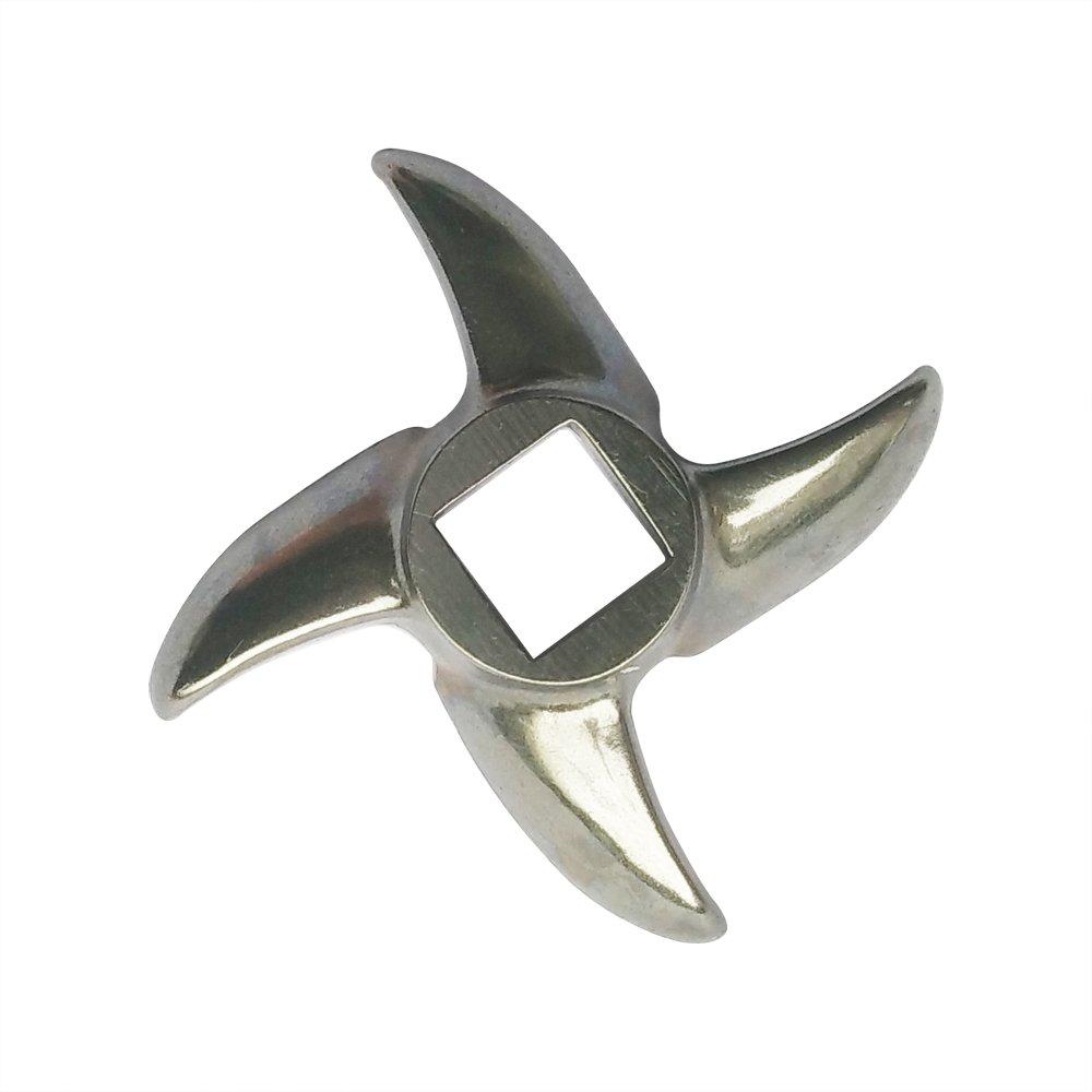 Yuauy Taglia #12 Chef Tritacarne in acciaio INOX lama coltello per elettrico o manuale metallo