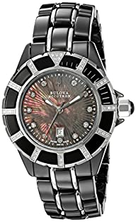 Bulova Women's 65R132 Mirador Analog Display Swiss Quartz Two Tone Watch