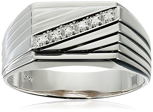 Mens-10k-Yellow-Gold-Diagonal-Diamond-Ring