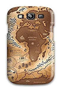 Tough Galaxy JFvTAHY914TXlpu Case Cover/ Case For Galaxy S3(map)