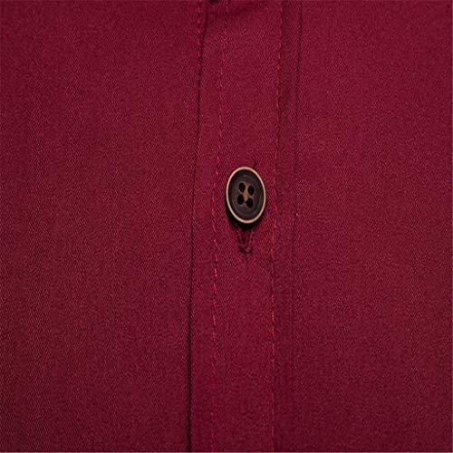 Uomo J Hoodie Felpa Vino Cappuccio Sweatshirt Maglione Lunghe Elegante Tops Cerniera Classico Collo Qinsling Dolcevita Camicetta Con Distintivo Maniche Inverno Cappotto dzHRHqwP