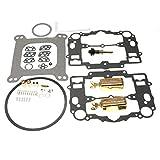 iFJF Carburetor Rebuild Kit for Edelbrock 1405 1406 1407 1408 1409 1410 1411 (With Bowl Cover Gasket)