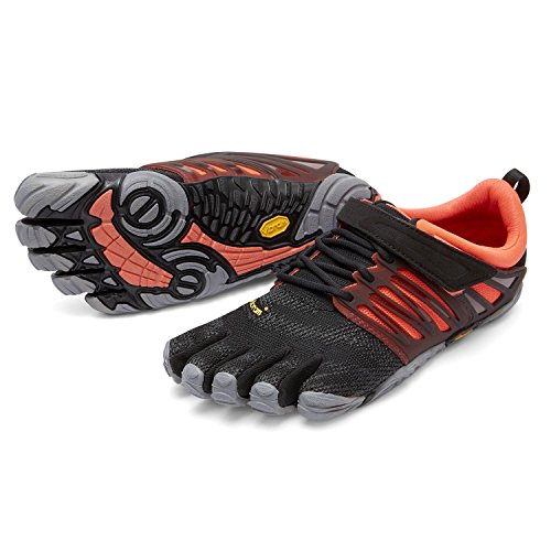 de Orteil nbsp;– chaussette nbsp;Kit Vibram Train masquage Grey Coral avec de fitness Chaussures V FiveFingers pour femme Black xXWw6wqC0