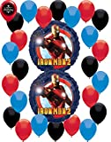 Iron Man 2 Balloon Decoration Bundle