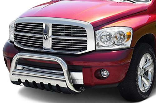 Velocity Concepts Chrome Bull Bar Brush Push Bumper Grill Grille Guard for 05-11 Nissan Frontier
