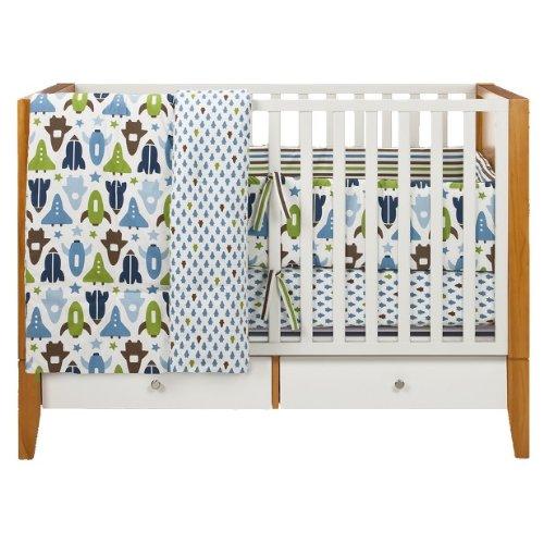 c77d801cf415 Amazon.com : DwellStudio® for Target® Space Crib Set : Crib Bedding Sets :  Baby