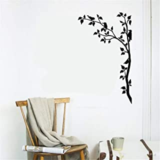 Stickers Vinyl Wall Art Decals Letters Quotes Decoration Birds Branches Tree Beards Leaves For Nursery Kids Room